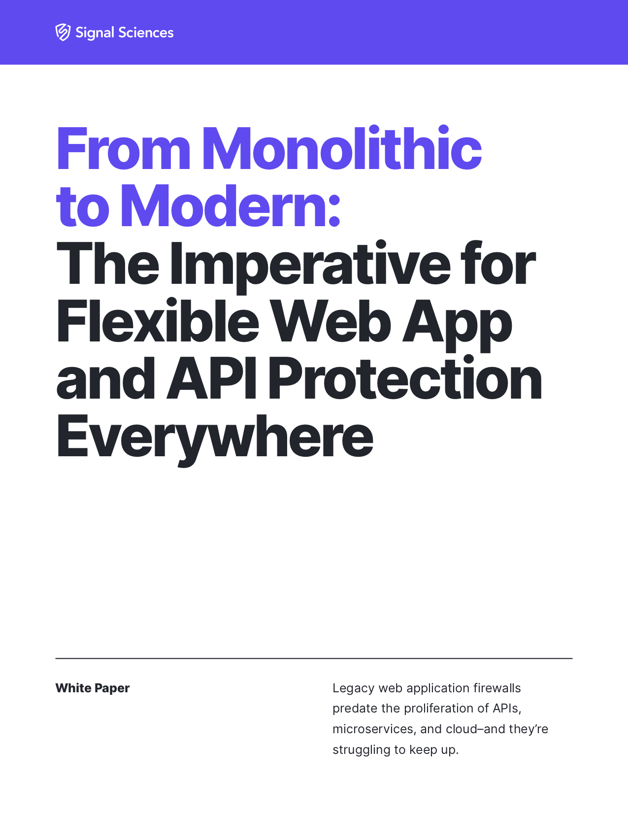 From Monolithic to Modern_cover
